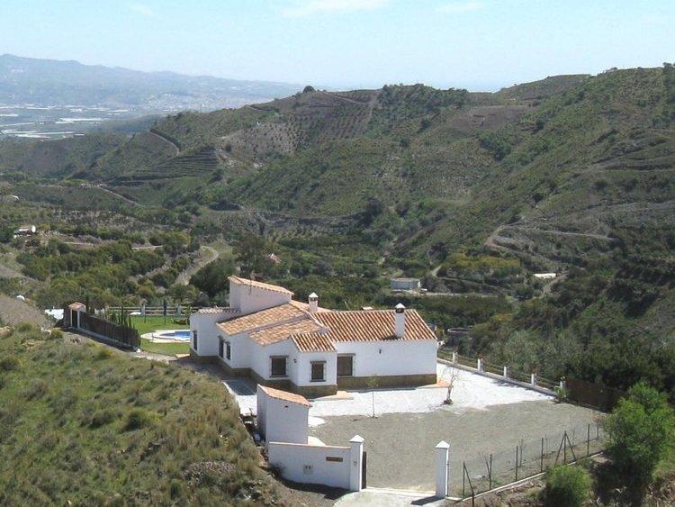 villa Andalusie Zuid Spanje bij Almachar