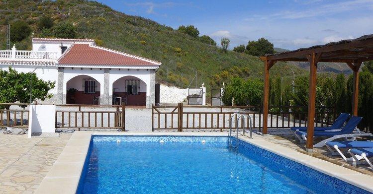 Vakantiehuis Andalusië - geniet het riante zicht op mooie natuur van Andalusië