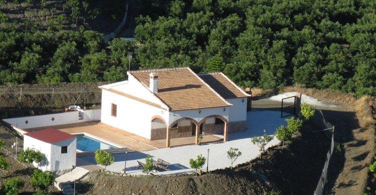 Vakantie Andalusië - vakantiehuis bij Benamocarra Zuid Spanje