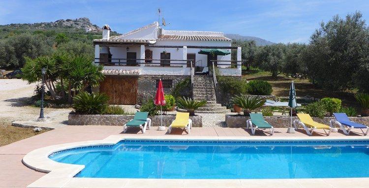 Vakantie in Andalusië in Periana - rustiek Vakantiehuis in Andalusië
