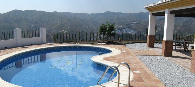 villa Andalusië met zwembad en wifi natuur