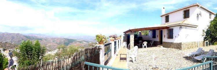 Vakantiehuis Iznate Andalusië Zuid Spanje