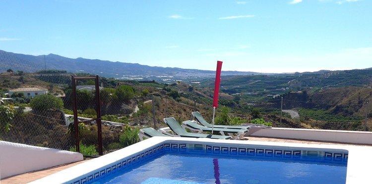 Vakantiehuis Zuid Spanje met vergezicht op de Middellandse Zee