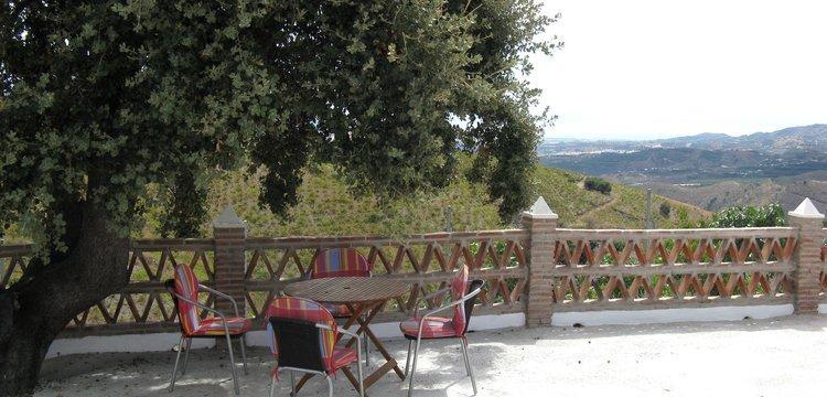 goedkoop-vakantiehuisje-andalusie-almachar-zuid-spanje uitzicht