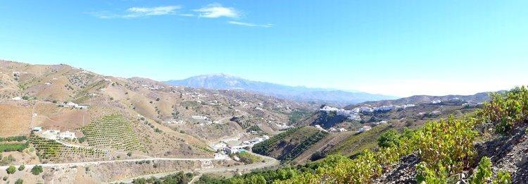 Vakantiehuisje met superieur uitzicht op El Borge, Almachar en Axarquia