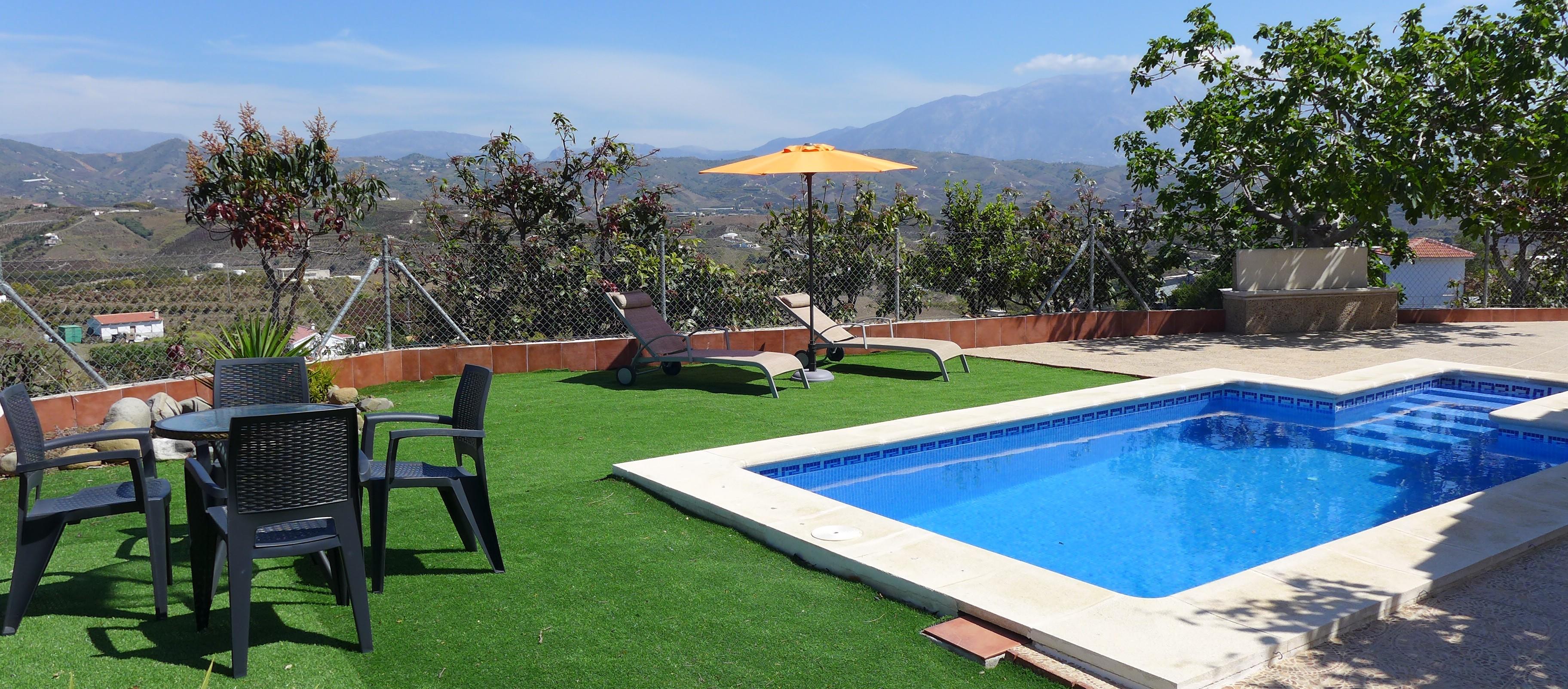 Villa Benamocarra Zuid Spanje Andalusië