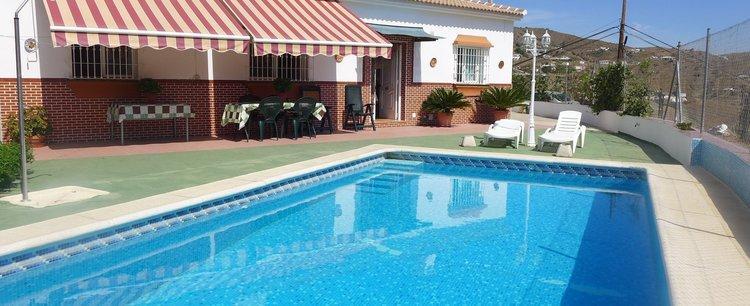 villa bij Almachar in echt Andalusië Zuid Spanje