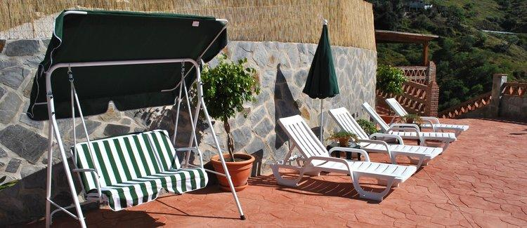 Villa bij Almachar in Andalusië Zuid Spanje