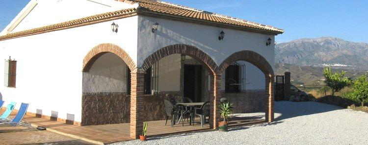Vakntiehuis Benamocarra Andalusië Zuid Spanje