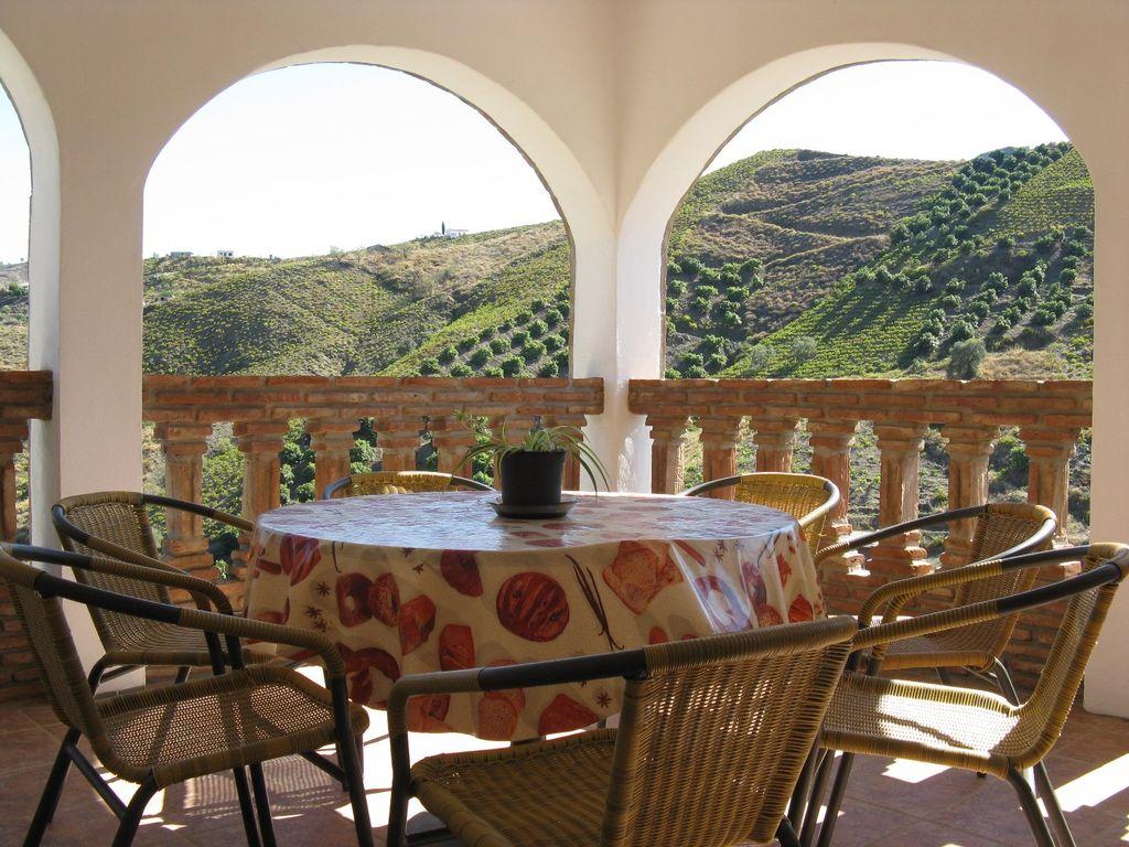 Casa Trinidad vakantiehuis Andalusië El Borge