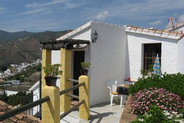 Casita Maria - vakantiehuisje op Finca bij El Borge in echt Andalusië