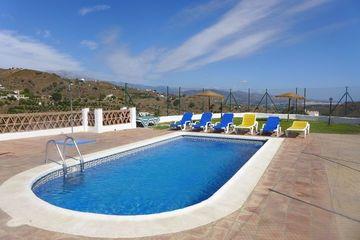 Casa El Chato - vakantiehuis Andalusië Almachar 2 bad- 4 slaapkamers