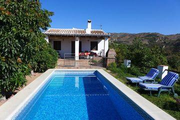 Casa Enrique Benamargosa - Vakantiehuis Benamargosa Andalusië privacy airco Spanje
