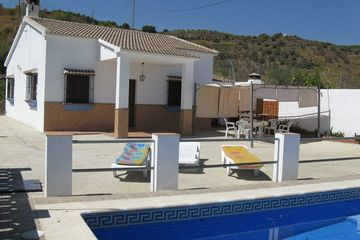 Casa Villanueva - vakantiehuisje Andalusië in natuur Almachar/Moclinejo