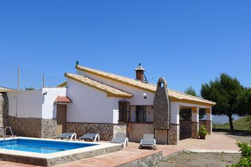 Casa Soleada - vakantiehuisje Iznate Andalusië villa zuid Spanje zeezicht