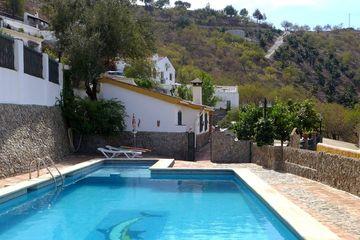 Casa El Olivo - vakantiehuisje Iznate: dorp in Andalusië Zuid Spanje huisje