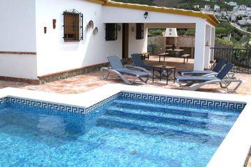 Casa Barranquero - vakantiehuisje bij dorp, met airco, zwembad in Andalusië