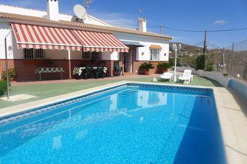Villa Celestina - villa op loopafstand van dorp Almachar in echt Andalusië