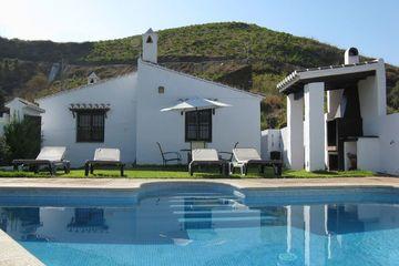 Casa La Navarra - Vakantiehuis Zuid Spanje Andalusië Almachar in de natuur
