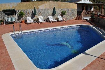 Villa Celina - villa Andalusië bij dorp en in mooie natuur Zuid Spanje