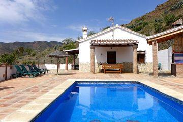Villa El Cerro - villa Andalusië vakantiehuis loopafstand dorp Zuid Spanje