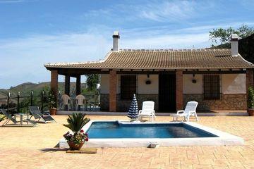 Casa Bella Axarquia - Villa Andalusie Zuid Spanje zwembad toplocatie in Axarquia