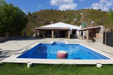 Casa Peña Gorda - Villa Andalusië met privacy en airco bij het dorp El Borge