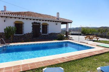Casa Rosario - villa Almachar Axarquia Andalusie Zuid Spanje Vakantievilla